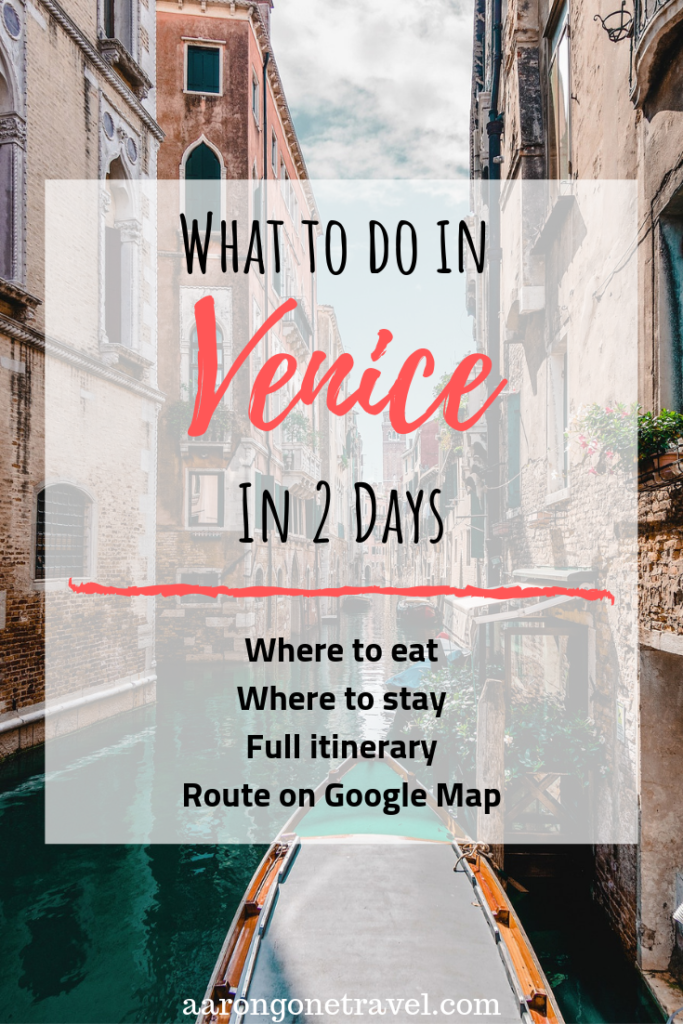 Going to Venice soon? Make sure you check out this Ultimate Venice Itinerary in 2 days, bringing you to all the hotspots of Venice in 2 days! A Google map showing you the full route will also be attached. This guides include where to stay, what to eat, where to go have authentic Italian coffee and many more insider's tips that you need to know! Written with a help from a true Venetian! #travelguide #itinerary #venice #italy