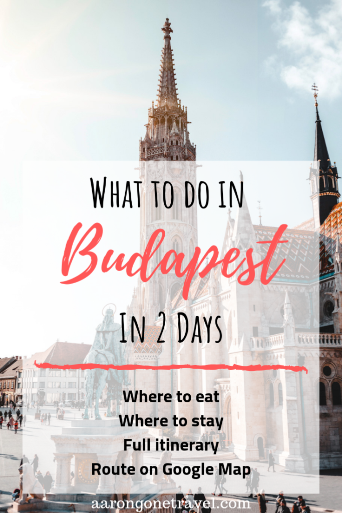 What to do in Budapest in 2 days? With just 2 days in Budapest, follow this carefully curated itinerary which brings you the best of Budapest in just 2 days! Includes: Insider's tips, restaurant recommendations, accommodation recommendations and more!! #budapest #travelguide #hungary #travel