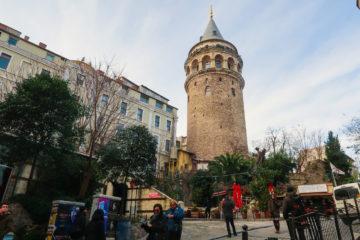 galata tower istanbul taksim
