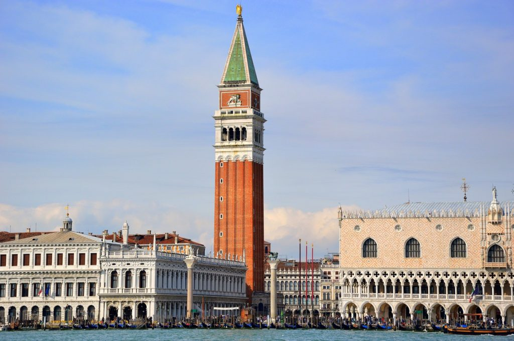 campanile venice itinerary for 2 days italy