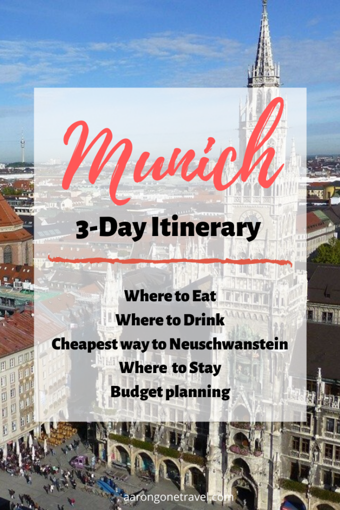 Planning to go to Munich? Make sure you check out this comprehensive 3-day Itinerary to Munich! Includes everything you need to know before going to Munich!