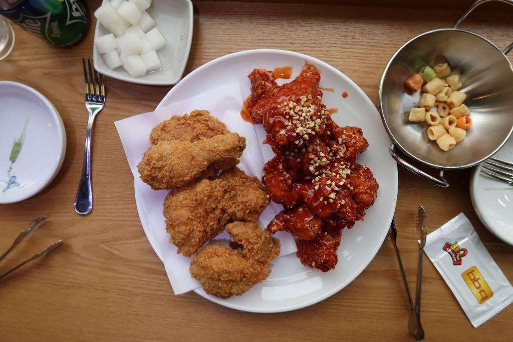 Korean fried chicken seoul itinerary 5 days winter