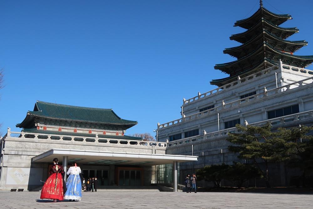seoul itinerary 5 days winter gyeongbokgung palace