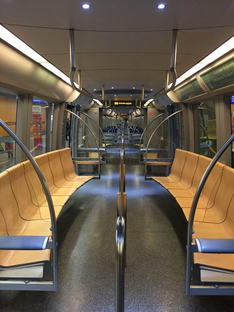 Metro in Munich clean