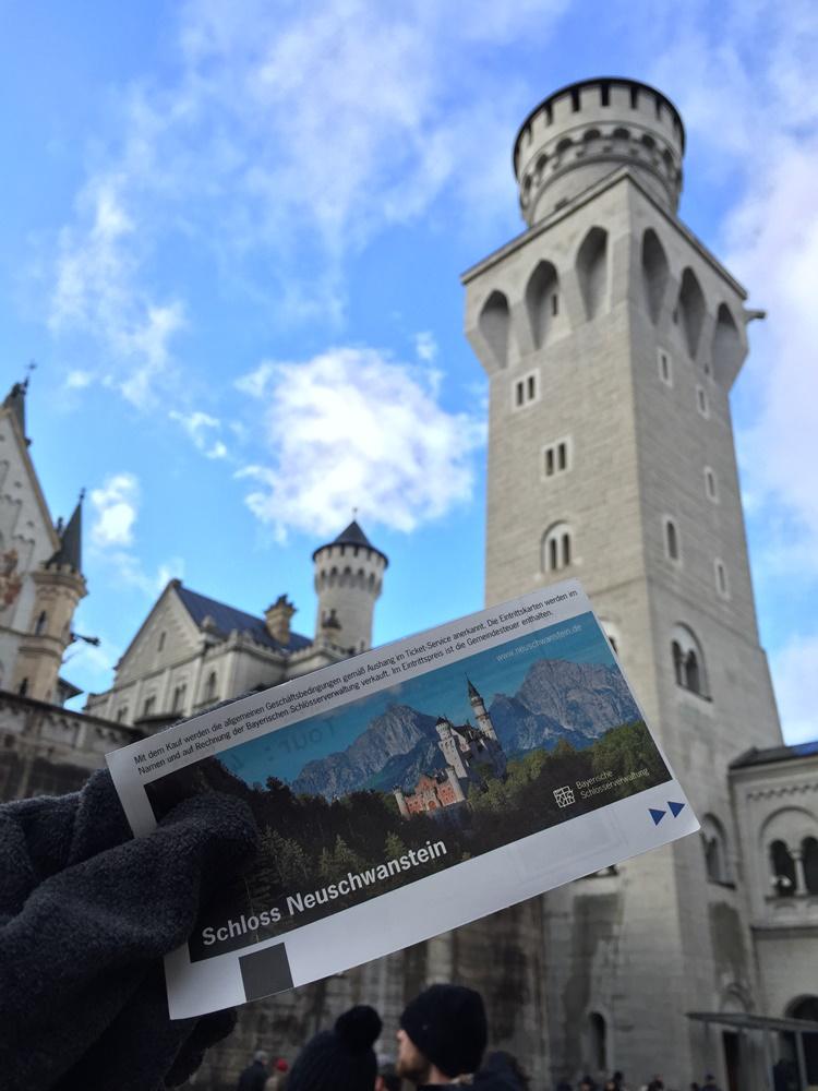 ticket munich neuschwanstein castle