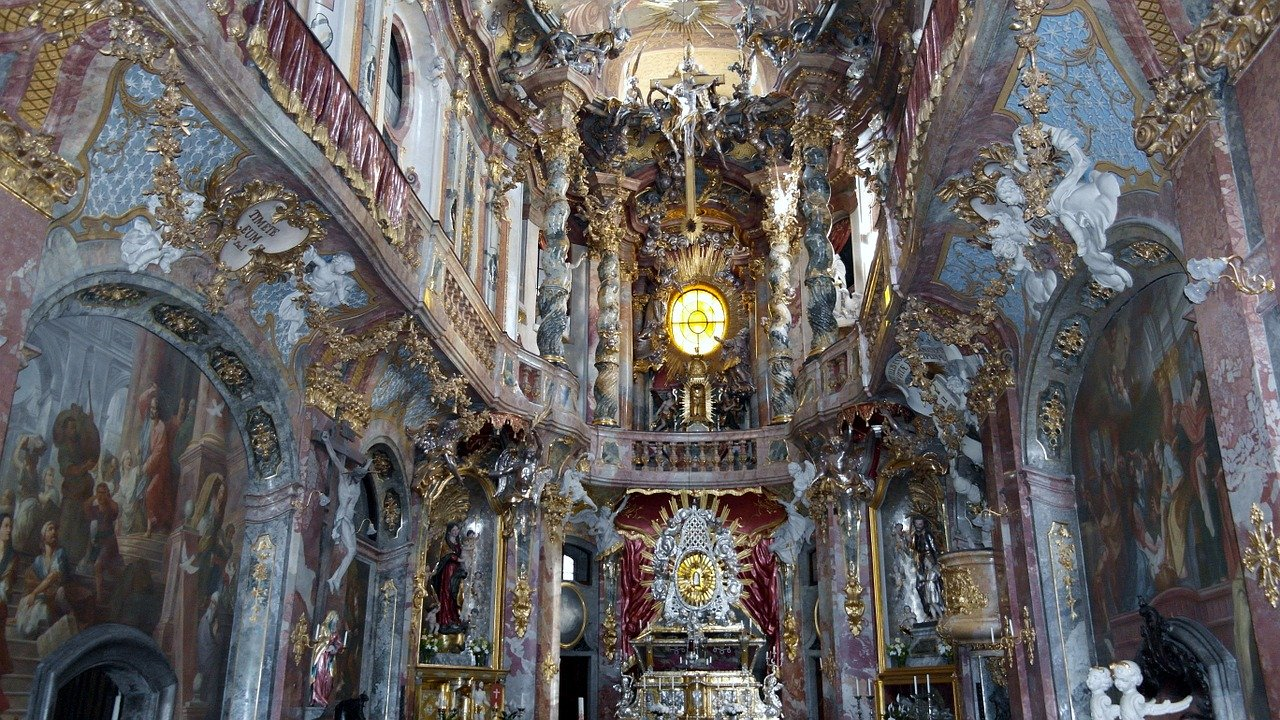 Asamkirche munich germany baroque church