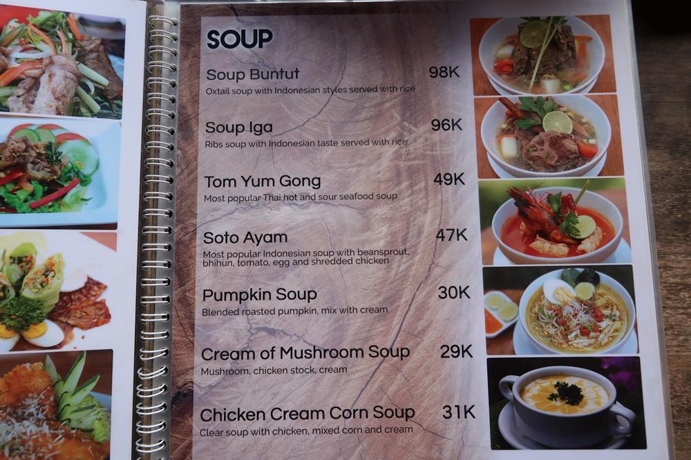 how much spending money in bali for a week warung mina menu