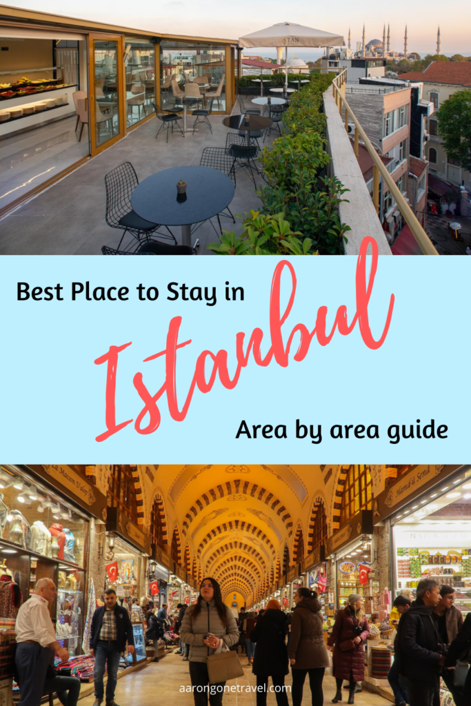 Wondering where is the best place to stay in Istanbul? This post will tell you the best areas to stay in Istanbul with recommendations on bars, food and everything else you need to know for you to make a decision!
