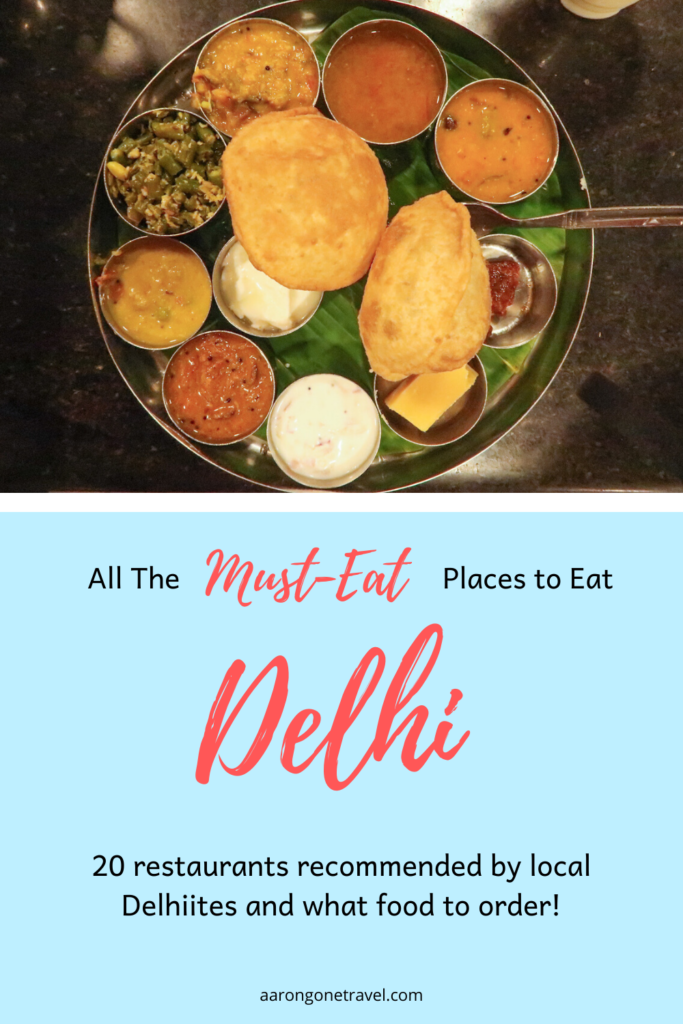 Going to India soon? This post has all the Must Eat Places in Delhi! Carefully curated by a bunch of Indian foodies, you are sure to get the best out of Delhi!