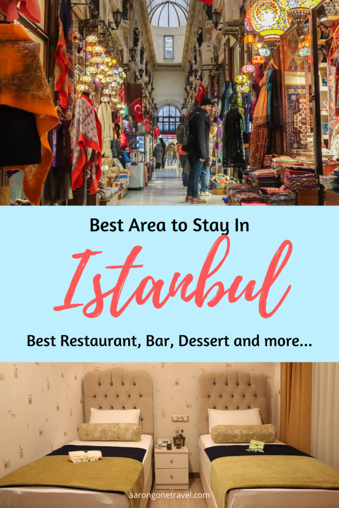 Istanbul is enormous. This guide is to tell you the best place to stay in Istanbul so you don't waste your precious time during your stay in Istanbul! Post includes recommended restaurants, bars, shops of each area!