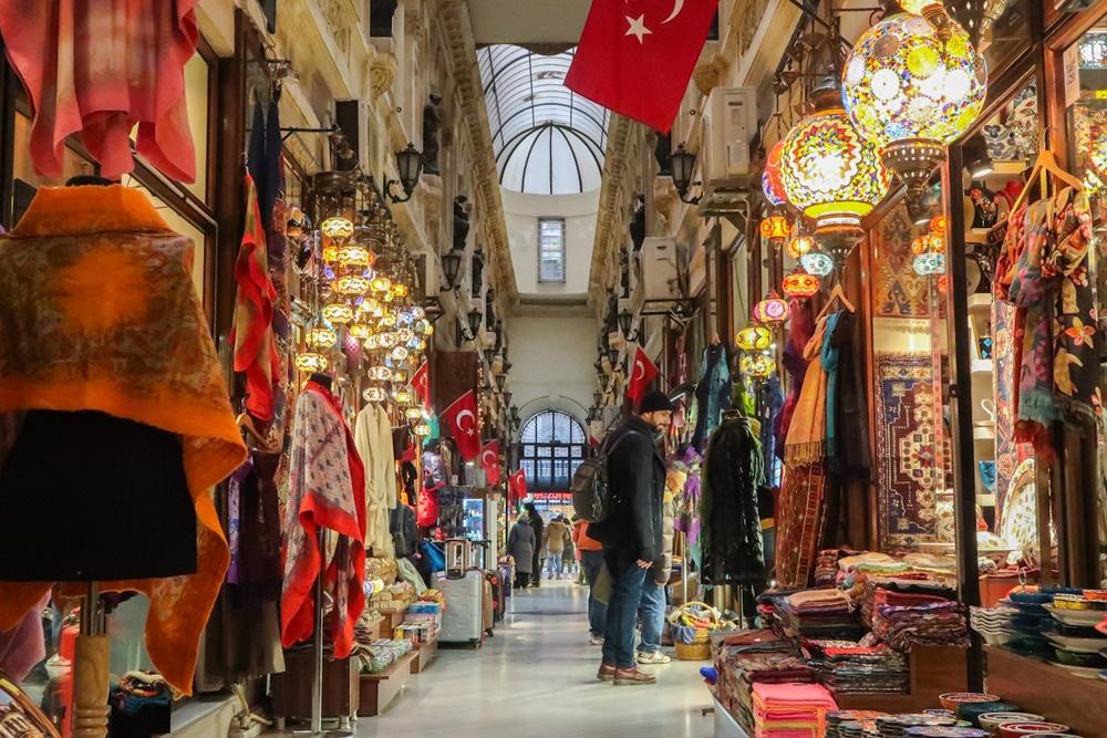 Shopping arcade taksim istanbul