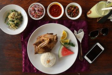Bebek bengil where to eat in Seminyak, Bali