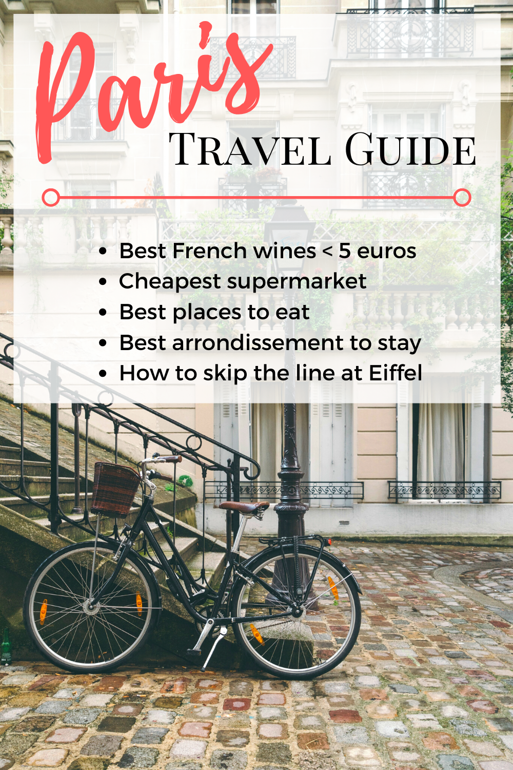 This Paris Travel Guide is carefully written from an expat point of view! Get some insider's tips and the best restaurant recommendations here! Paris Travel | Paris Itinerary | Travel in Paris | Paris City Guide | Paris City Itinerary | Paris Weekend Trip
