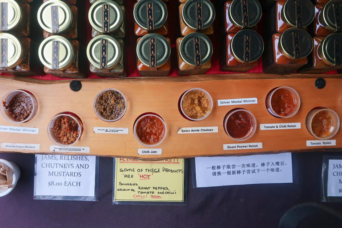 chutney salamanca market free sample wood chinese character