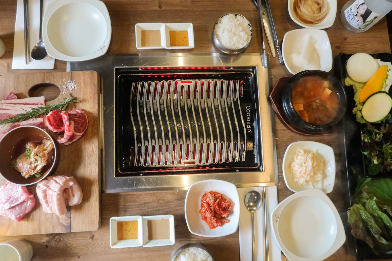 Maru Korean BBQ barbecue meat lunch brisbane Itinerary