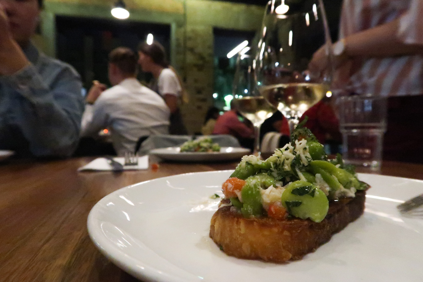 entrée julius pizzeria brisbane australia italian food tartine