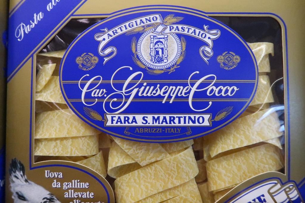 Cav giuseppe cocco tagliatelle pasta expensive
