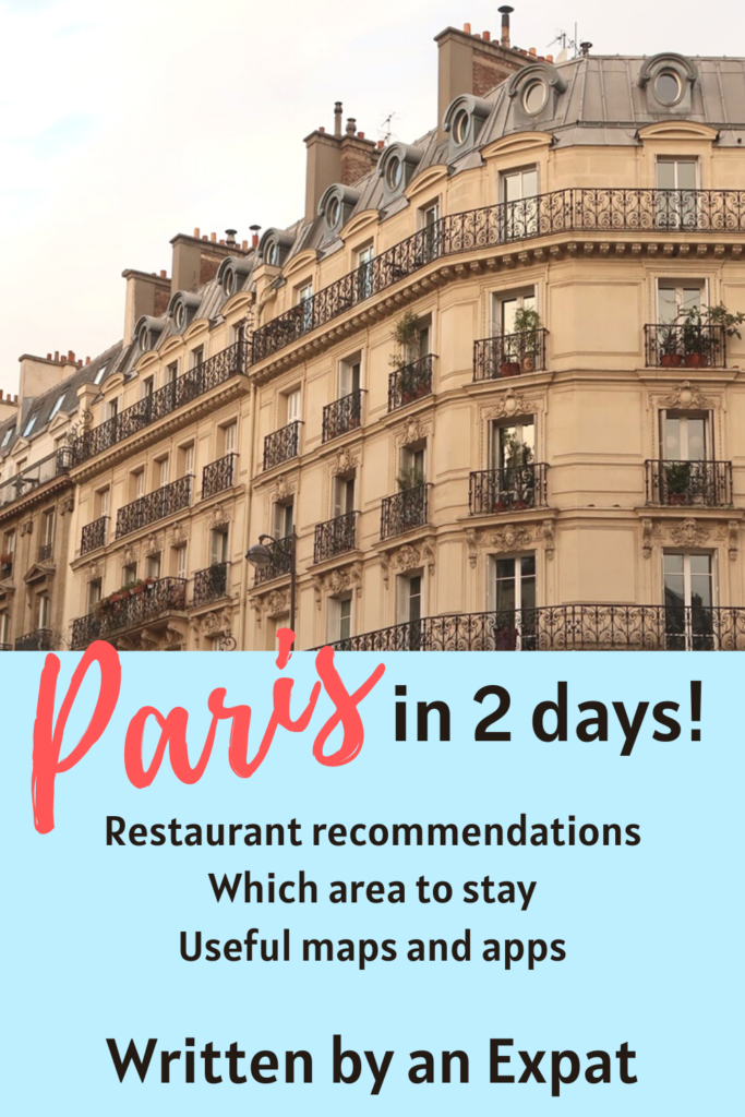 If you only have 2 days in Paris, make sure you check this guide in Paris out to make sure you get the best of Paris in 2 days! #paris #france #travelguide #itinerary