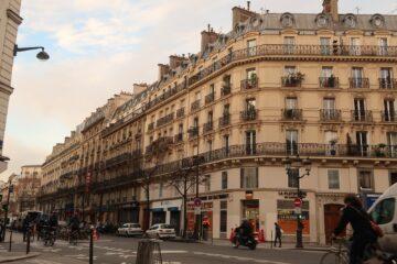 hausmannian architecture 2 days in Paris