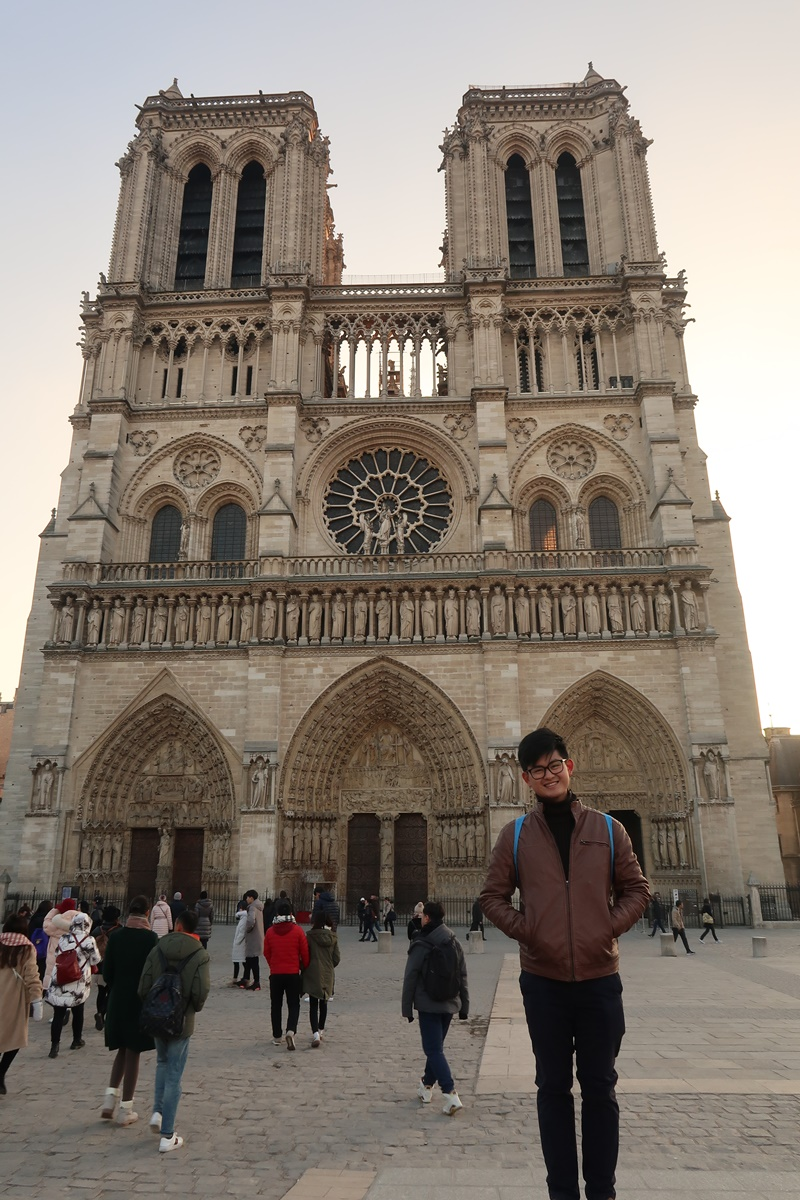 Notre dame paris before fire