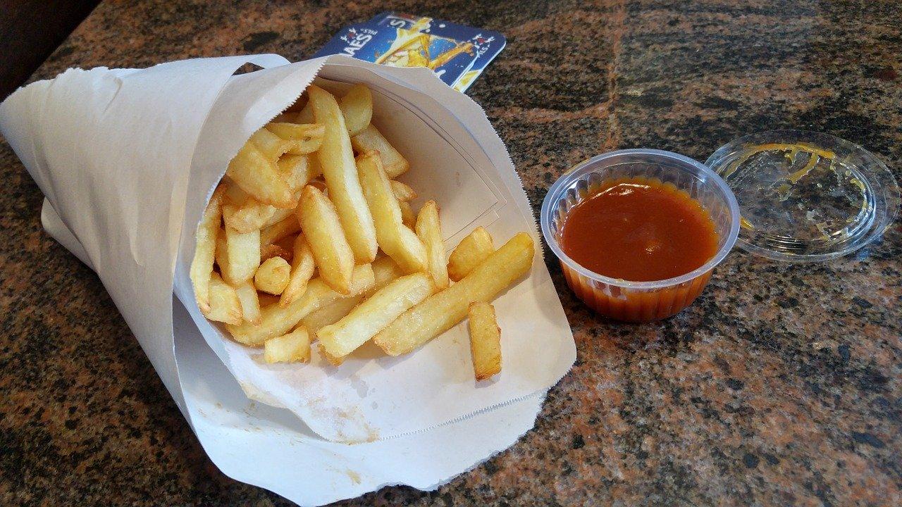 Fries in Brussels Belgium