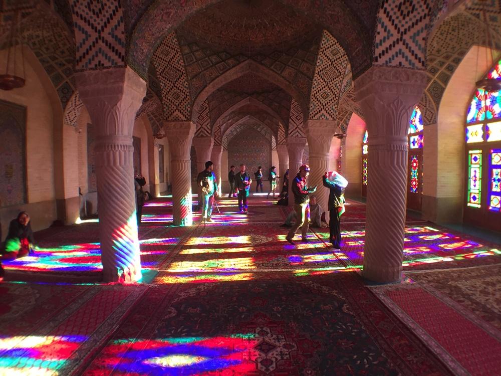 arches nasr al mulk mosque
