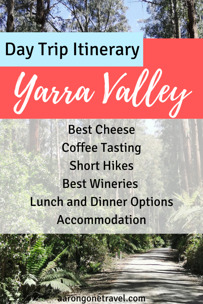 There are so many day trips in Melbourne that you could do but the best of all? Day trip to Yarra Valley! This full day trip itinerary is gonna tell you the best restaurants in Healesville, best cheese, wine, cider, gin, coffee and everything that else that you need to know! #healesville #yarravalley #melbourne #visitmelbourne