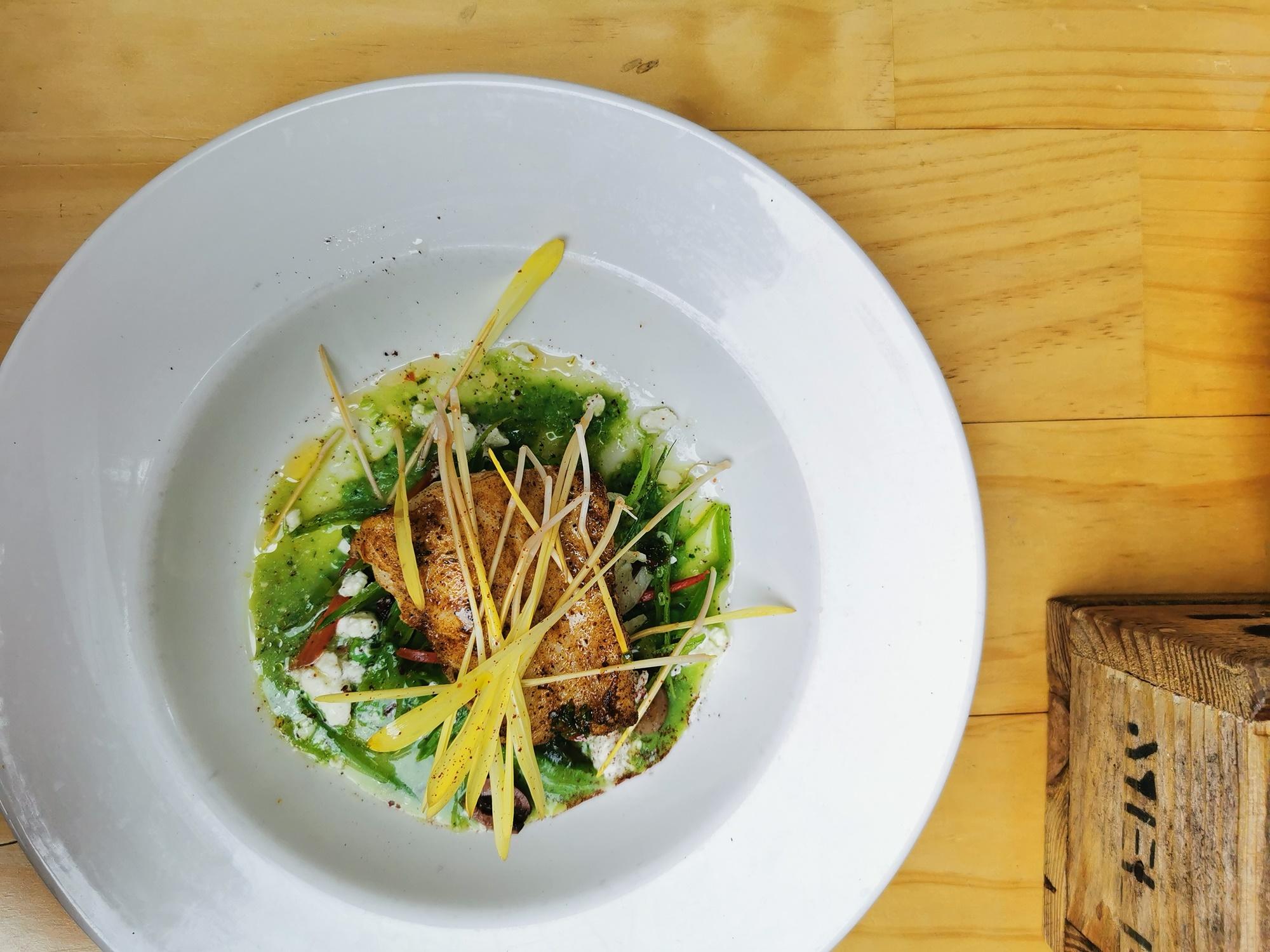 my little kitchen rockling fillet lunch brunch plate victoria healesville